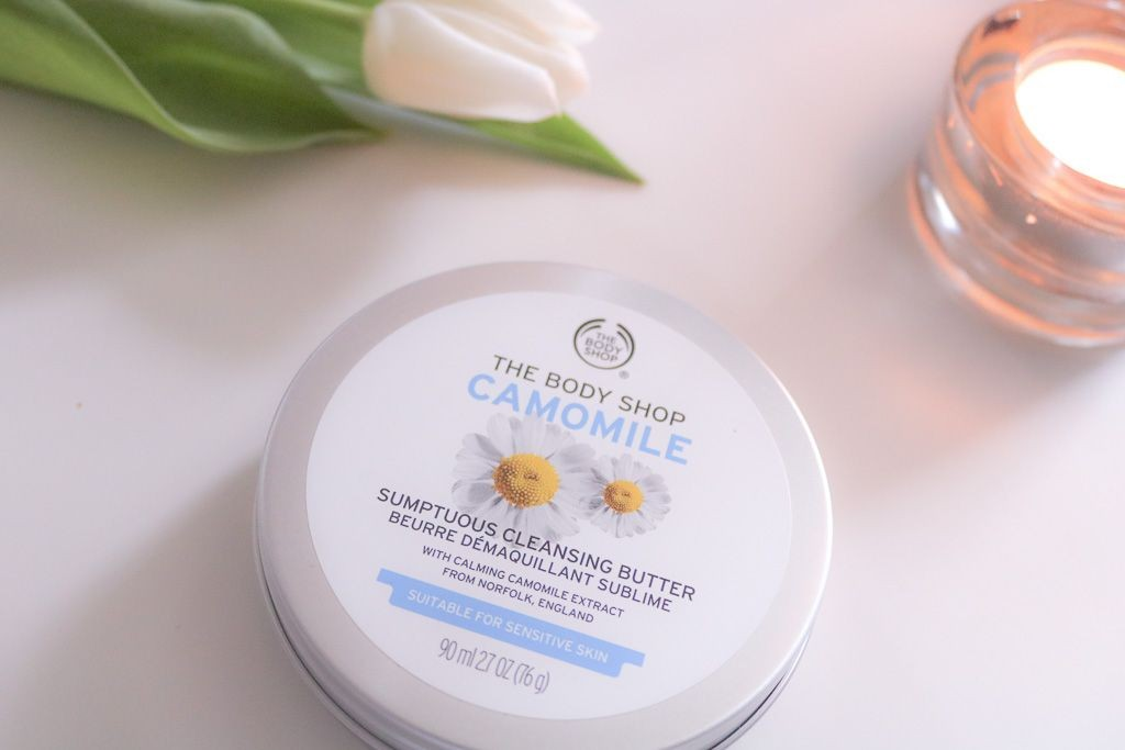 Camomile Cleansing Butter von The Body Shop - Abschminkroutine & Gesichtsreinigung (Part 1)