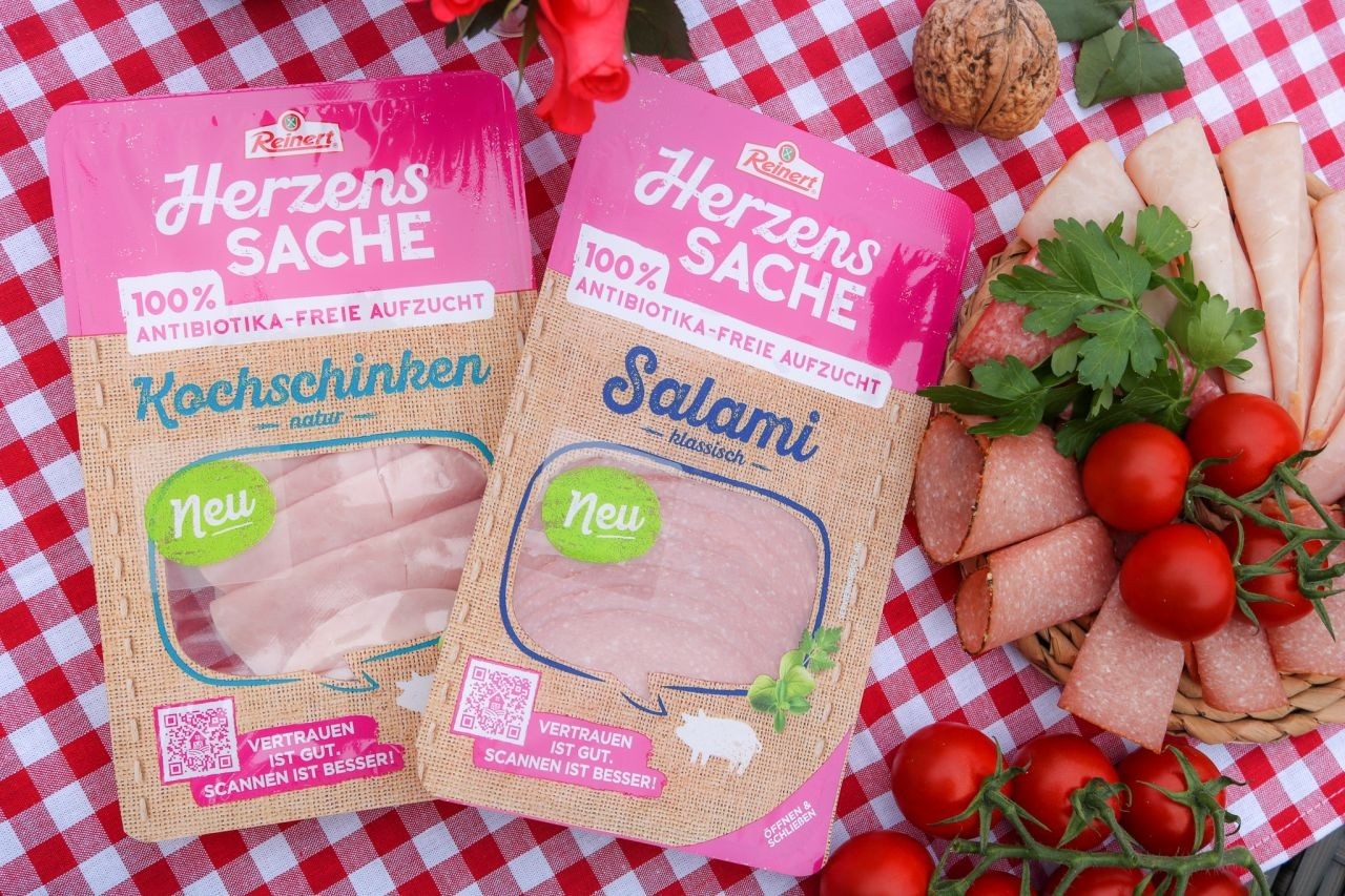 ANZEIGE * HerzensSACHE - leckere Wurstprodukte aus 100% antibiotikafreier Aufzucht von Reinert